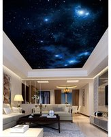 Wallpapers Custom Po Wallpaper 3d Ceiling Dreamy Beautiful Star Zenith Mural For Living Room Painting Decor
