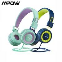 2pack MPOW CH8 Kinder Kabel-Headsets Nette Faltkopfhörer mit 85 dB Limited Volumensteuerung und Mic Faltbare Headsets Kinder Geschenke