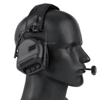 Tactical Accessories Hunting Shooting Headset Military Cs Training Combat Headphone Without Sound Pickup & Noise Reduction Function Earmuffs