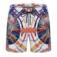 21ss tasarımcı mayo erkek yüzmek rahat şort mektup baskı nefes moda mayo plaj pantolon yüksek kalite 4 renkler mevcut