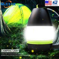 Многофункциональные фонарики горелки кемпинга лампа лампа лампы светодиодные USB аккумуляторные 3 in1 фонарик стола стола питания вывод банка