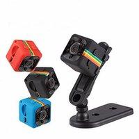 بواسطة dhl أو فيديكس 200pcs / lot SQ11 كاميرا مصغرة HD 1080P الاستشعار للرؤية الليلية كاميرا الفيديو Motion DVR Micro Sport DV كاميرات الفيديو