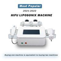최고 품질의 HIFU 슬리밍 Liposonix 기계 휴대용 Liposunix Hifu Lipo 지방 치료 삭제 배꼽 셀룰 라이트 스파 살롱 HIFU 기계