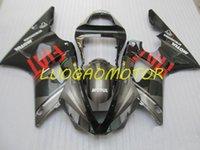 Injection Bodywork Fairings kit for YAMAHA YZF1000R1 YZF R1 2000 2001 fairing kits Cowling YZF-R1 00 01 Hogh Quality ABS Motorcycle Custom Gift Gray Black