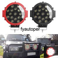 Spot Beam 51W LED Work Light For Truck Tractor 4x4 Off Road 7 inch Round LED Light Bar Car-styling Driving Light