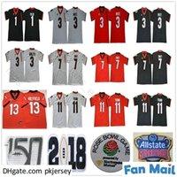 NCAA Georgia Bulldogs 13 Elijah Holyfield 11 Jake Fromm 7 Dandre Swift 3 Zamir White Todd Gurley II 34 Herchel Walker 150th Football Jerseys