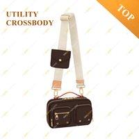 Signore Fashion Casual Designer Utility Crossbody Messenger Bag Borsa Pochette Metis Brown Flower M80446 Top di alta qualità Borse a tracolla multifunzione Borsa a tracolla con scatola