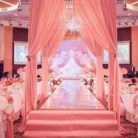 Nueva llegada 1m / 1.2m / 1.5m Shine Silver Silver Spream Aisle Runner para la boda romántica Favores de la fiesta de la fiesta