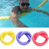 Pool & Accessories Wholesale 10Pcs EPE Lightweight Swimming Noodle Water Float Aid Foam Random Color For Children And Adults 6x150cm