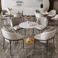 Мебель для столовой Wanghong Qingshe Sales Office Country Community Выставочный зал Досуг Прием Переговоры Небольшой Раунд Один стол Четыре стулья