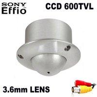Menu CCD 600TVL Mini Caméra UFO DOMN DOMN Voler Surveillance CCTV Ascenseur Caméras IP