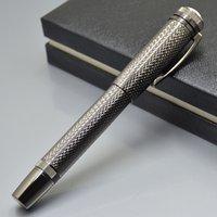 جودة عالية الميراث 1912 مجموعة الأسود المعادن الأسطوانة الكرة القلم القرطاسية مكتب اللوازم المدرسية الكتابة أقلام ناعمة