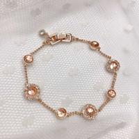 Designer-Ohrringe Verlobungsringe, Armbänder und Goldketten sind Frauen Favoriten Charm Armbänder Jijiamantianging Seiko Online Fashion Street Bangle Coup
