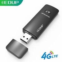 EDUP 150MBPS 4G USB WIFI Dongle Adapter LTE Universal Mobile Hotspot Support 3G / 4G Nano SIM Carte SIM pour ordinateur portable PC Bureau