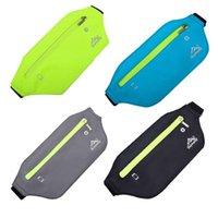 Card Holders Sports Fanny Pack Waist Bum Bag Travel Running Bags Slim Belt Phone Pouch For Men Women