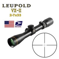 LEUPOLD VX-2 2-7x33 Cross Scope Riflescopes Compact Rangefinder Hunting scopes Cross-Hair Reticle with 11/20mm mount