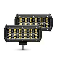 Working Light 72W Waterproof Work LED Bars 4-Row Spot 12V Offroad Flood Driving 24V Car For Beam Truck Boat Combo Tracto C3F2