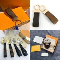 Designer carino portachiavi keychain portachiavi porta anello titolare di marca designer keychains per porte clef regalo da uomo donne car sacchetto di autodomesticelli accessori ad alta qualità con scatola
