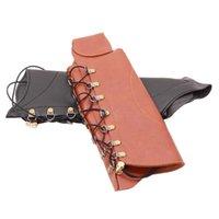 Protège-arc de tir à la chasse à l'arc de haute qualité capuchon de protection en cuir durable accessoires d'engrenages de doigts coudiants