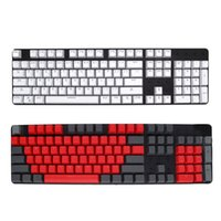 Клавиатура 104 штук профиль PBT KEYCAPS с ключом съемник, подсветка набор для механических игровых клавиатур