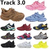 balenciaga TRACK 3.0 BALENCAIGA BALENCGA 3M Runners Shoe 2 Hommes Femmes Jaune Rose Bleu Jaune Sport extérieur Chaussures Casual Baskets Sneakers 36-45Tcre #