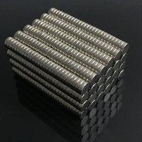 Neodim N35 Dia 2x1, 3x1, 4x1,4x2mm Güçlü Mıknatıslar Tiny Disk NDFEB Nadir Toprak El Sanatları Modelleri Için Buzdolabı Yapışkanlık