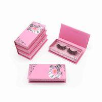 Burn Book Empty Box Lashwoods Case Free Plastic Tray Wholesale Mink es Custom Eyelash Packaging