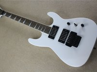 2 double shake 24 quality white electric guitar active pickup