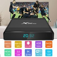 4GB 64GB X96 Air Android 9.0 TV Box Amlogic S905X3 Quad Core BT Support Voice Remote Dual Wifi SmartTV