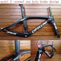O único T1100 3K 1K UD Weave 24 cores Quadro de Estrada de Carbono Bike Racing Bicicleta Frameset com XDB Navio Livre Cutoms Impostos Quadros