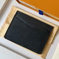 Top Kartenhalter 7,5 * 12 cm Mode Unisex Bag Classic Style Design Leinwand Hohe Qualitätsinhaber