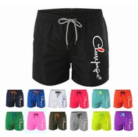 2021 New Men Gyms Fitness Loose Shorts Bodybuilding Joggers Summer Quick-dry Cool Short Pants Male Casual Beach Brand Sweatpants