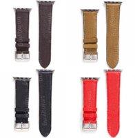 G desenhista cinta relevo watchbands 42mm 38mm 40mm 44mm iwatch 2 3 4 5 bandas pulseira de couro listras moda