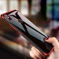 Cas de téléphone de luxe pour Xiaomi Mi 8 mi8 SE TPU SE TPU TPU ultra mince Couvercle arrière transparent pour Xiaomi 8 Lite Explorer