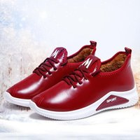 Boots Woman Snow Plush Warm Ankle For Women Winter Waterproof Female Shoes Booties