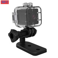 SQ12 Mini Cámara IP HD 1080P Lente de gran angular impermeable Videocámara Deporte DVR infrarrojo Visión nocturna Micro Cam Pequeñas cámaras