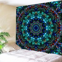 Tapestries Mandala Tapestry Wall Hanging Sandy Beach Throw Rug Blanket Geometric Bohemian Meditation