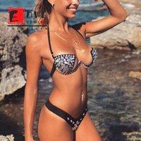 Design Kristall Diamant Slips Womens Bademode Sexy Split Swimsuit Mode Strap Strand Sonnenbaden Bikini Licht Luxus Luxus