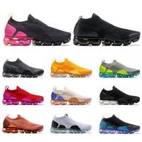 أعلى جودة TN MOC حك أحذية بيضاء أسود رمادي وردي فولت اوريو الجامعة الأحمر رجل إمرأة أحذية رياضية