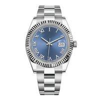 Erkek İzle 41mm Otomatik Hareketi Paslanmaz Çelik 2813 Mekanik Tasarımcı Montre Homme Moda Saatı Reloj Orologio da Uompo di lusso