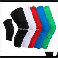 Dirsek Atletik Açık Hava Havada Accs Bırak Teslimat 2021 Petek Çorap Spor Güvenlik Basketbol Spor Kneepad Yastıklı Brace Sıkıştırma Kol