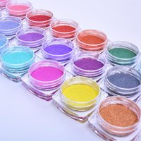 Kästchen Zauberspiegel Glitter Nagel Chrom Pigment Schale Blende DIY Salon Micro Holographische Pulverkunst Dekorationen Maniküre1