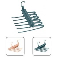 Hangers & Racks 360 Degree Rotating Smooth Heavy Duty Multi Layers Clothes Home Supplies