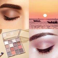 Eye Shadow 16 Color Waterproof Long Lasting Shades Shimmer Matte Eyeshadow Palette Glitter Gift