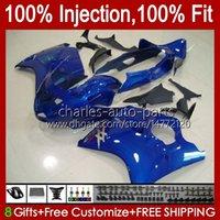 Injectie Mold Lichaam voor Honda Blackbird CBR1100 CBR 1100 XX CC 1100xx Glossy Blauw 02 03 04 05 06 07 26 NO.57 CBR1100XX 1996 1997 1998 1999 2000 2001 1100CC 96-07 Kuip