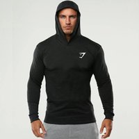 Long sleeved Hoodie training spring fitness tide brand cotton casual letter Hoodie men's sweater