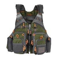Life Vest & Buoy Breathable Fishing 209lb Buoyancy Safety Jacket Swimming Sailing Waistcoat Utility Floating Device