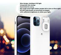 Odporny na wstrząsy Selfie LED Flip Ring Light Telefon komórkowy na iPhone 12