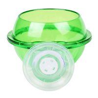 Green Cultivatin Cup Cup Aquatic Scip Cok Bow с присосными чашками для рыбы Аквариум подводный декор Рыбы Водный питомца LLE7461