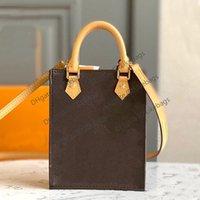 Bolsa Crossbody Bag Petit Sac Plat Pochette M69846 Multi Cor com Caixa Luxurys Designers Das Mulheres Bolsas De Couro Genuíno Embreagem Mensageiro Telefone Do Ombro Sacolas